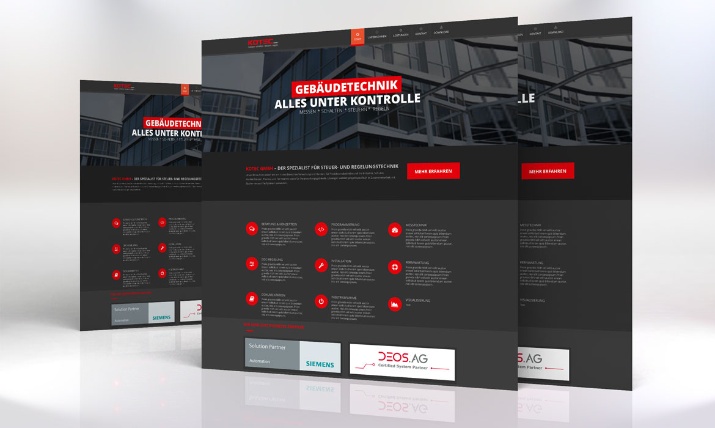 Webdesign, Kotec GmbH