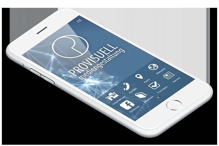 iPhone 7 mit Provisuell App