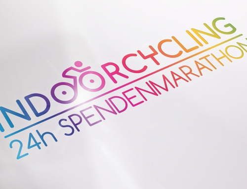 Indoorcycling 24h Spendenmarathon – Logodesign