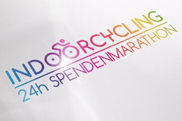 Logodesign, Indoorcycling Spendenmarathon