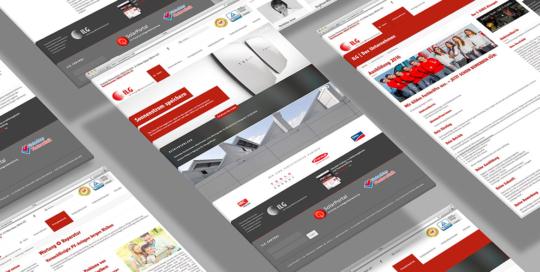 Webdesign, Ilg Energie GmbH