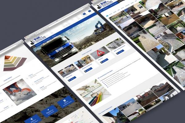 Webdesign, Braml Pflasterbau