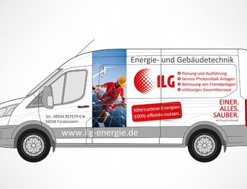 ILG Energie GmbH – Fahrzeugwerbung