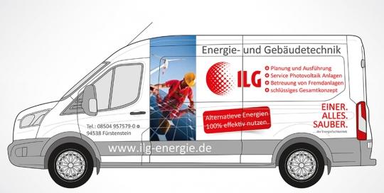 Fahrzeugbeschriftung, Ilg Energie