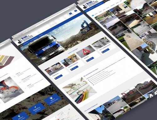 Braml Pflasterbau GmbH – Webdesign