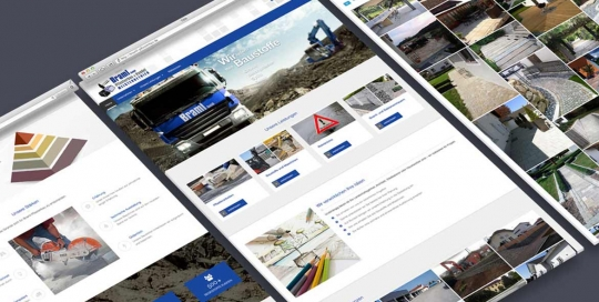Webdesign Joomla! für Braml Pflasterbau