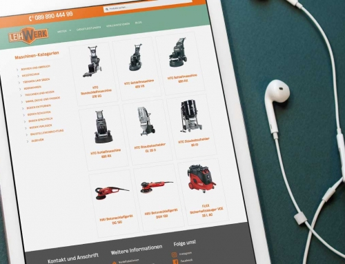 Leihwerk GmbH – Webdesign
